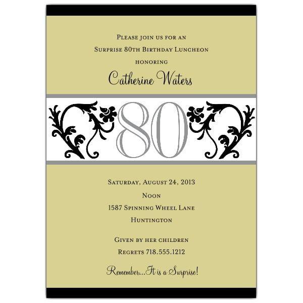 60th birthday invitation wording in spanish