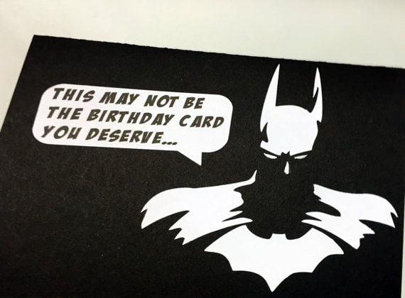 batman birthday ecards