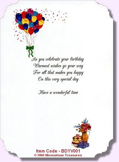 best friend birthday card verses
