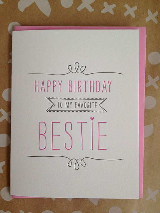 best friend birthday cards ideas