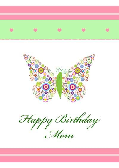 birthday card template for mom