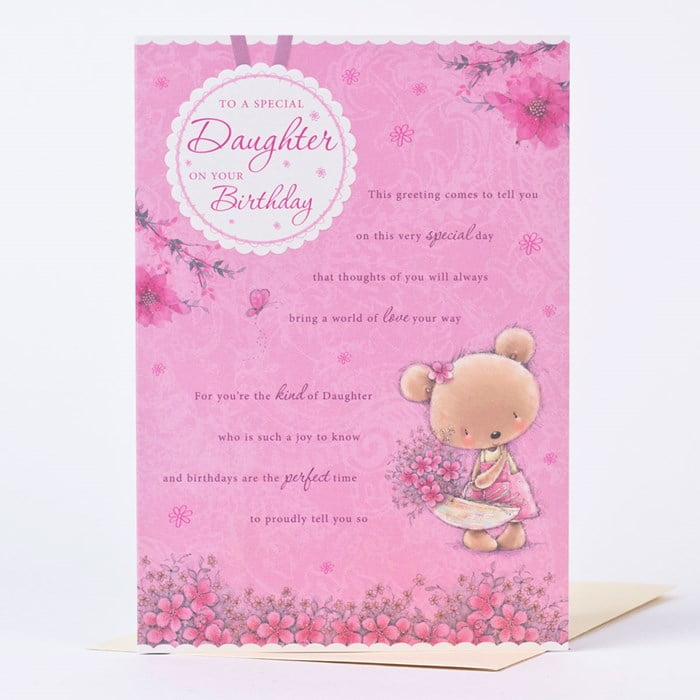 birthday cards for daughter images