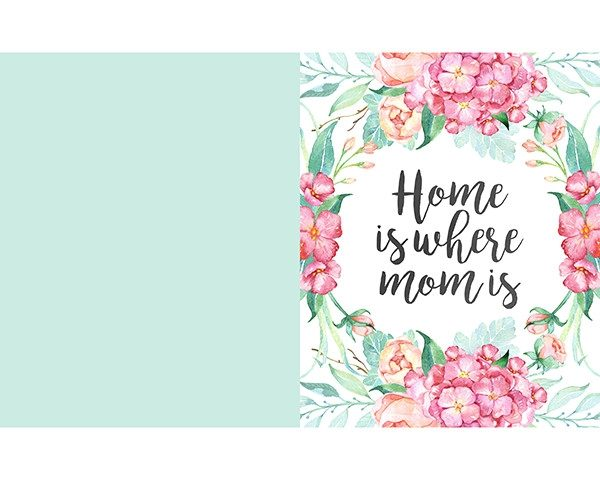 birthday cards to print for mom