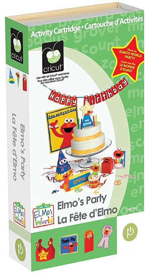 elmo birthday invitations made cricut
