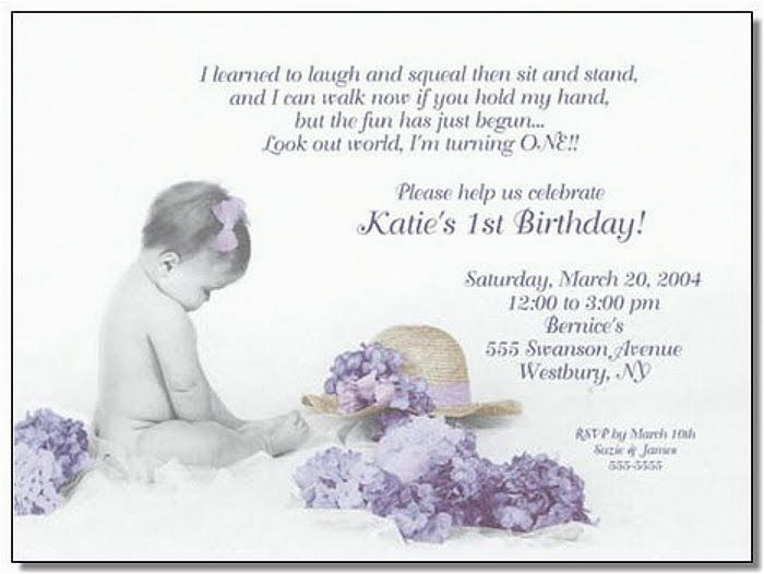 first birthday invitation wording christian