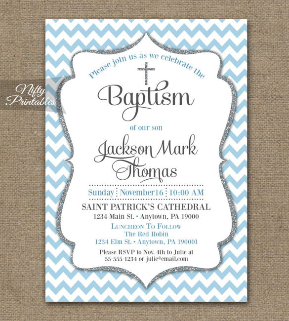 free printable baptism invitation maker