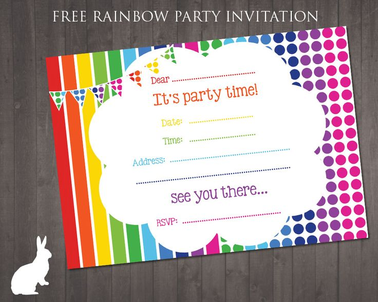 free printable birthday invitation creator