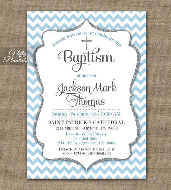 free printable christening invitation maker