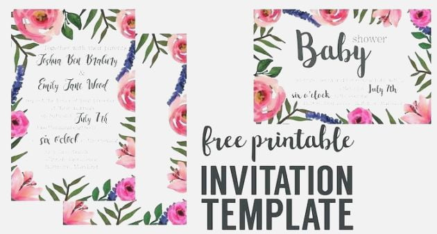 free printable invitation maker no download