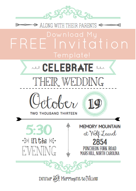 free printable invitation maker software