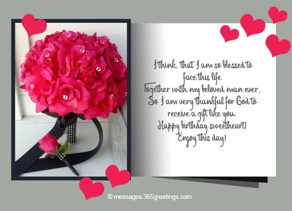 happy birthday card messages for husband