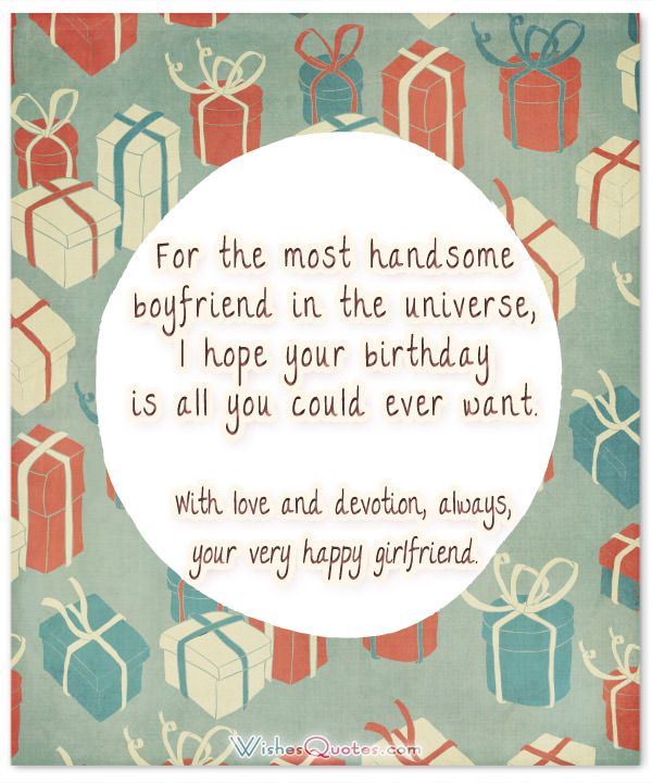 happy birthday card messages to boyfriend