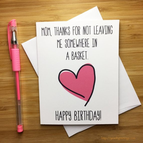 happy birthday cards for a mom