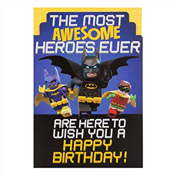 lego batman birthday card