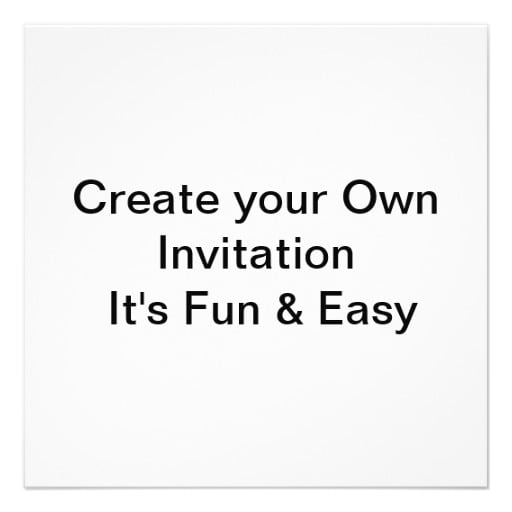 make your own invitations free online