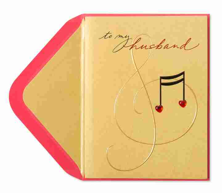 musical birthday cards for husband