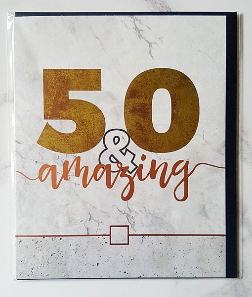 pictures of 50th birthday cards