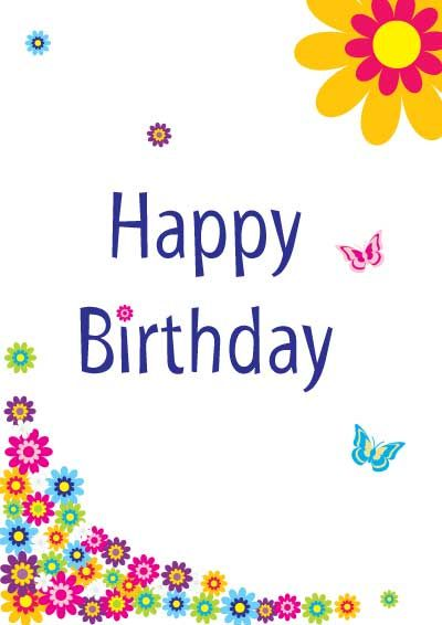 pictures of birthday cards free printables