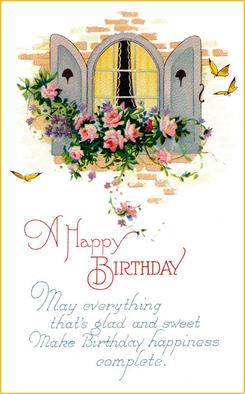 pictures of birthday cards free