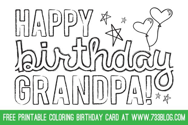 printable birthday cards for grandpa