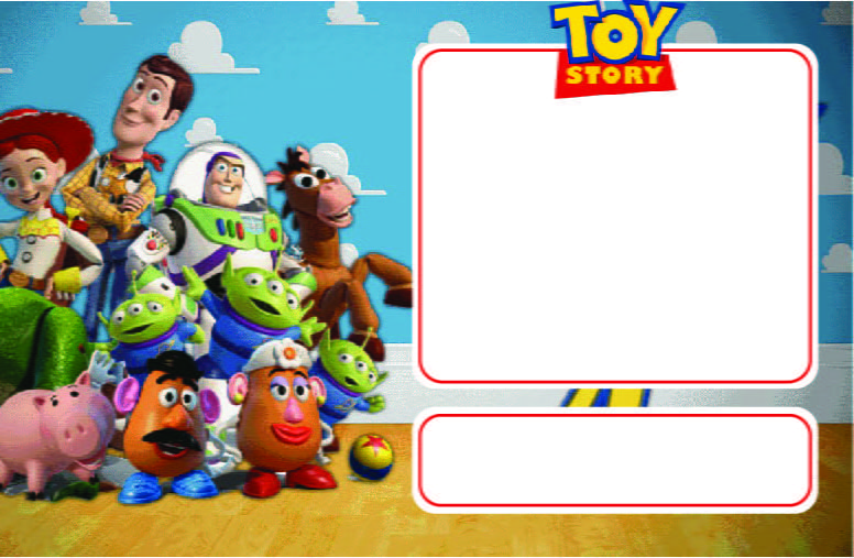 toy story birthday invitations free template