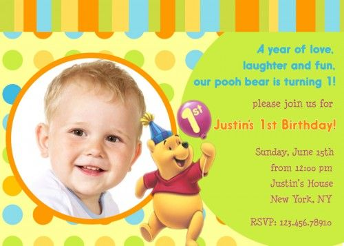 winnie the pooh birthday invitations free download